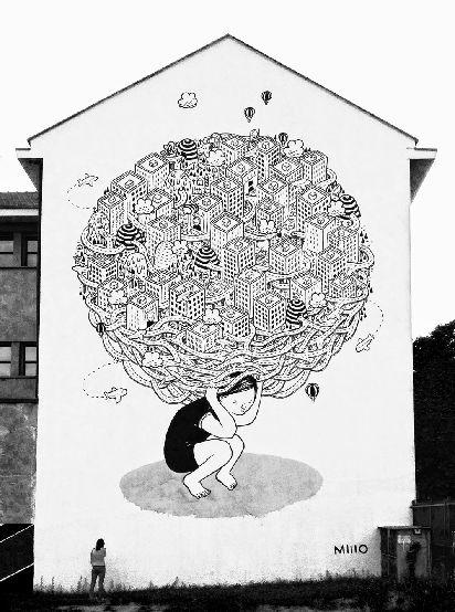 Millo, Habitat, B.ART – Arte in Barriera, Torino