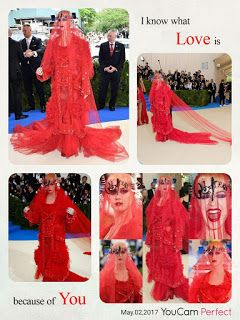Katy Perry made an epic entrance on the carpet at the 2017 Met Gala, which took place at the Metropolitan Museum of Art on Monday in NYC....