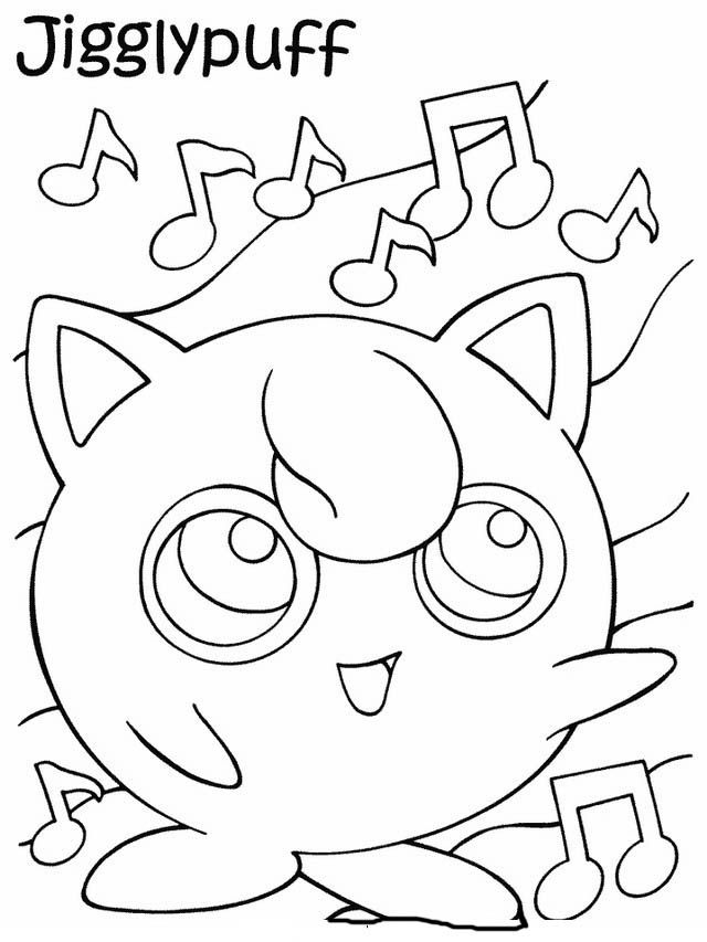 Dibujos para Colorear Pokemon 32