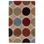 Concepts Circle Rectangle Area Rug