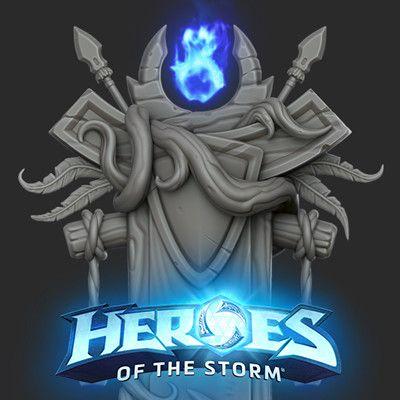 Heroes 2.0, Michael vicente - Orb on ArtStation at https://www.artstation.com/artwork/X0Bma