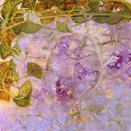 *2003 | Richard Dunlop, 'Jacaranda' Oil on linen 112 x 122cm
