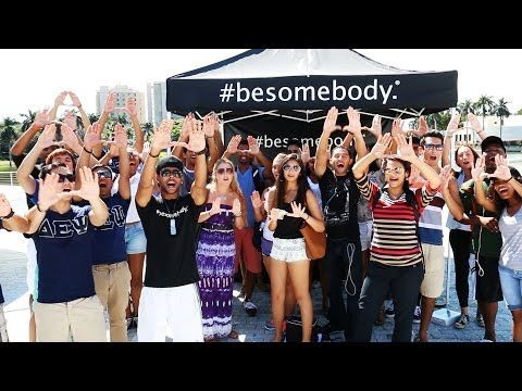 We're on a college tour with #besomebody!  Check out University of Miami here. #bebottlefree