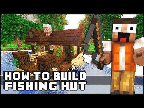 Minecraft House Tutorial: Small Fishing Hut - YouTube
