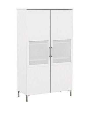 Nice A2 Credenza 2Ante Bianco 80 x 39,6 x 140H cm