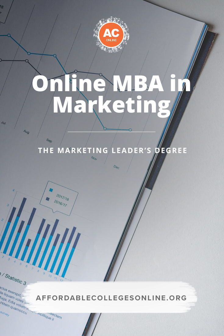Online Mba In Marketing Start Your Degree In 2018 With Images Online Mba Online College Classes Online Education Courses