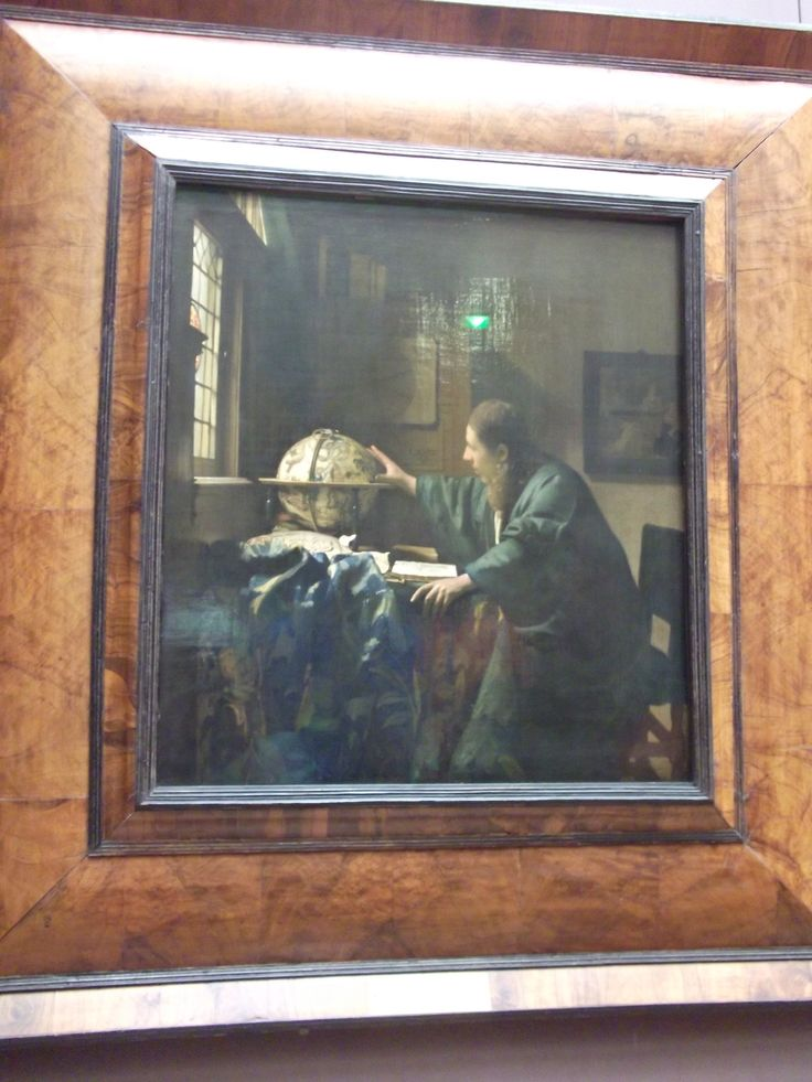 #Art - The Astronomer (1668) by Johannes Vermeer, at the Louver, #Paris, #France