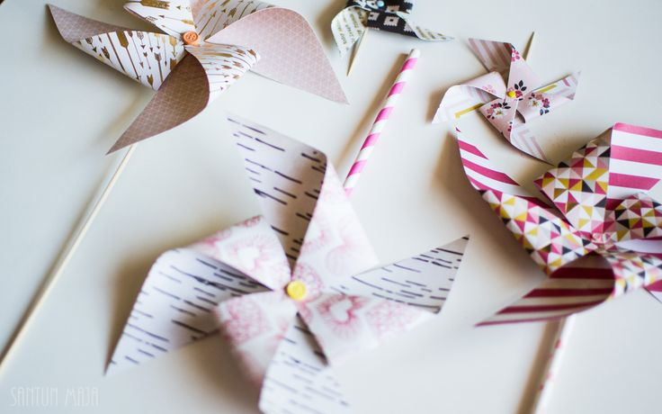 PAPERIHYRRÄ// Santun Maja -blog #papercrafting #craftideas