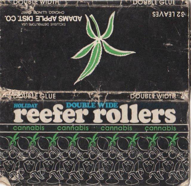 Dude, Check Out My 1970s Weed Rolling Paper Collection