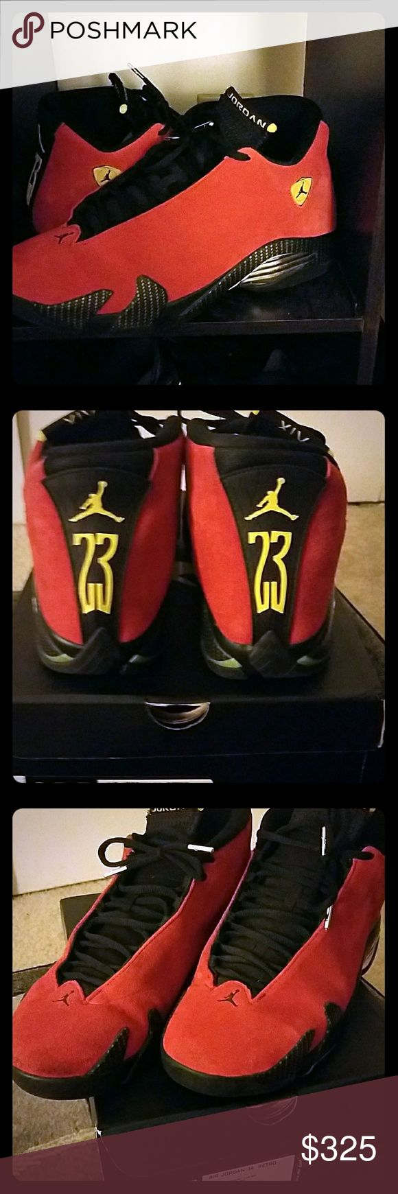 Jordan Ferrari 14s Rarely worn.... Still look like brand new Jordan Shoes Sneakers