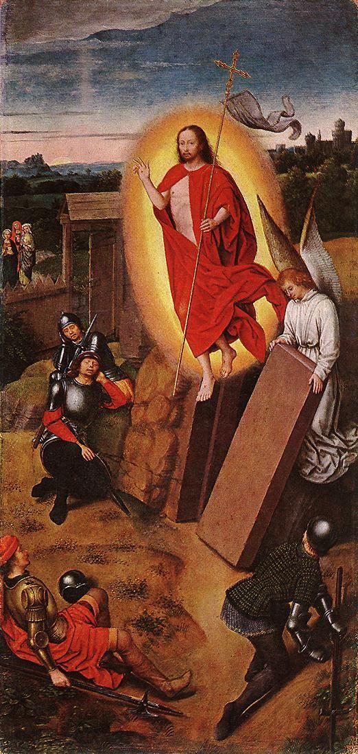 Hans Memling - Resurrection - WGA15008 - Resurrection of Jesus - Wikipedia, the free encyclopedia