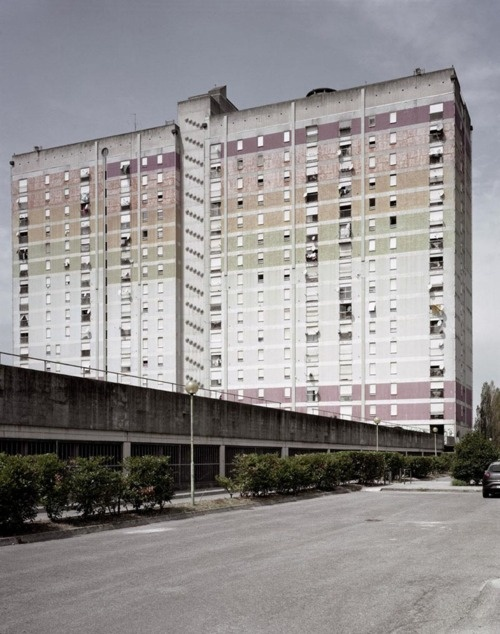 Architecture of Doom      Gabriele Basilico, Brescia, 2010Unidentified Modern City. Globalized Bresciavia We Find Wildness