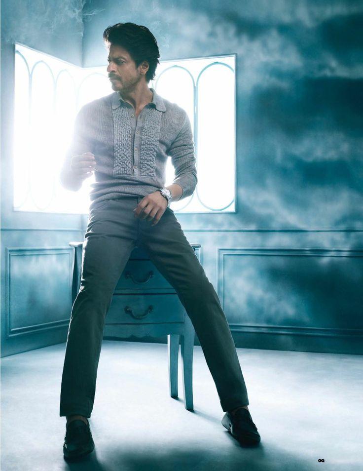SRK. India GQ Jan 2017