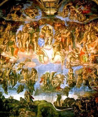 Fotos do Teto da Capela Sistina de Michelangelo
