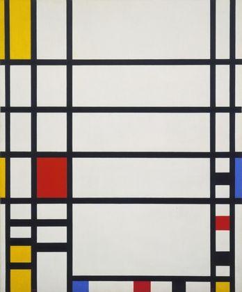 Trafalgar Square  Piet Mondrian (Dutch, 1872-1944)    1939-43. Oil on canvas