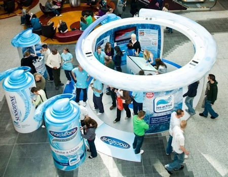Customers get a feel for brands with experiential marketing