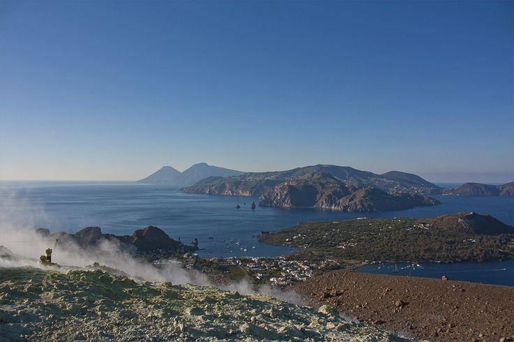 Sul Gran Cratere di #Vulcano #Eolie - Il blog tour #eolietour13 l alle Isole Eolie  #eolietour13 ->