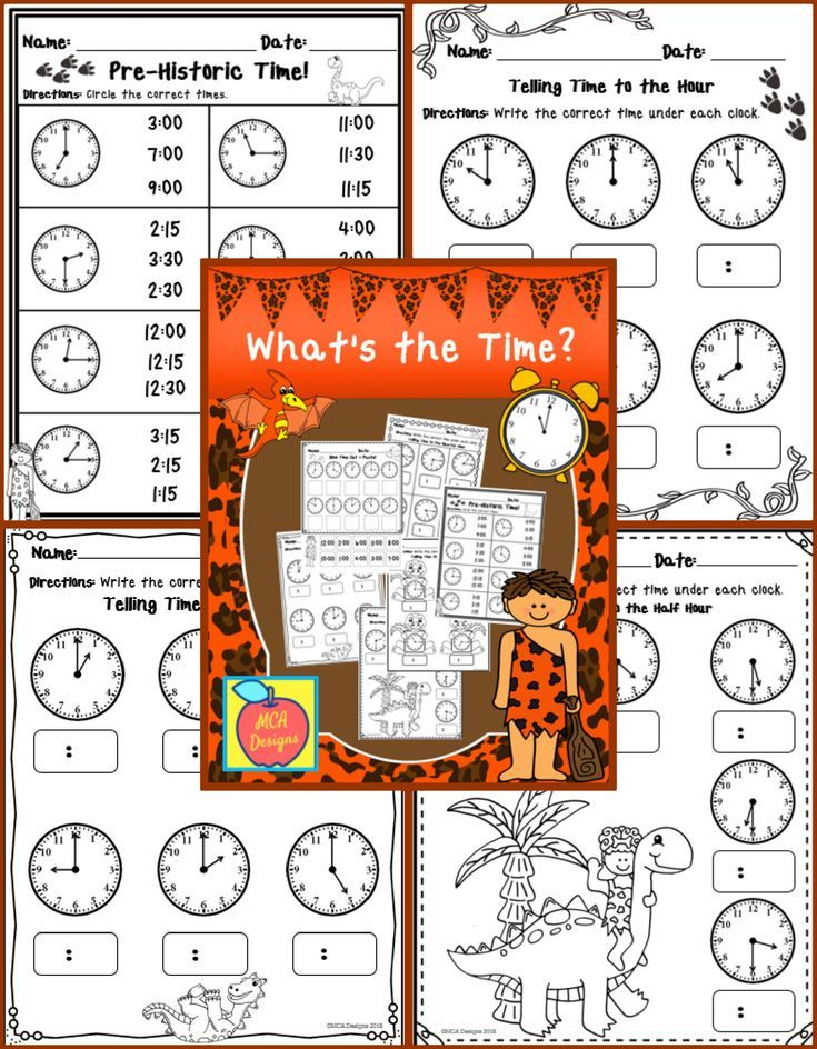 What's the Time?   K-5 Math   Teacher resources, Elementary math ...