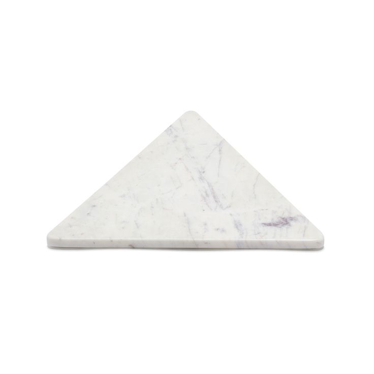 Marble Basics EQUILATERAL TRIANGLE TRIVET