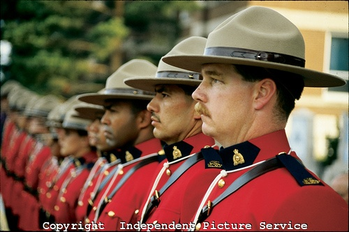 RCMP, Royal Canadian Mounted Police, Moose Jaw, Saskatchewan, Canada by Independent Picture Service, via Flickr