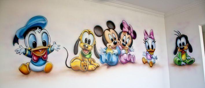Disney babies in de kinderkamer...