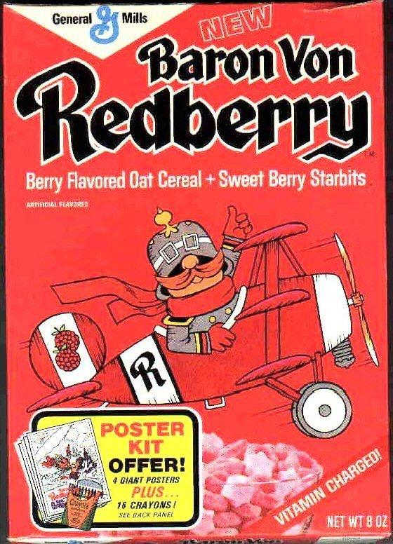 Baron Von Redberry cereal