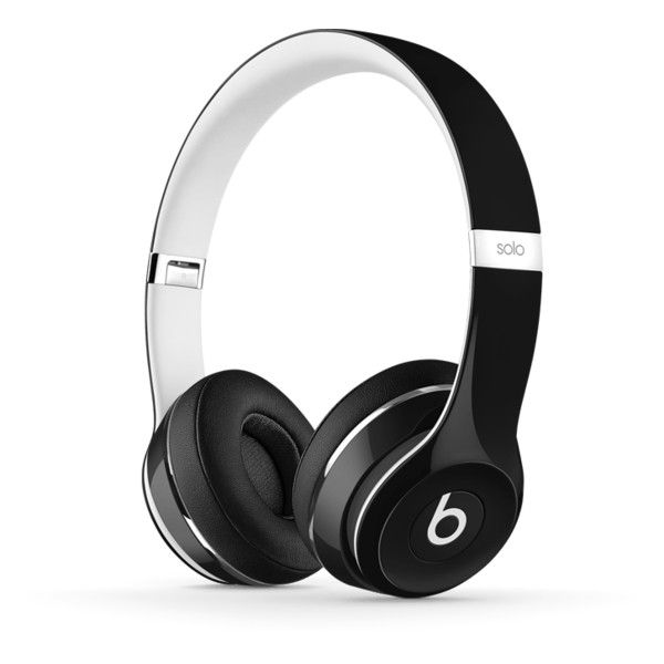 Beats Solo2 On-Ear Lightweight Headphones | Beats by Dre ($330) ❤ liked on Polyvore featuring accessories, tech accessories and beats by dr. dre