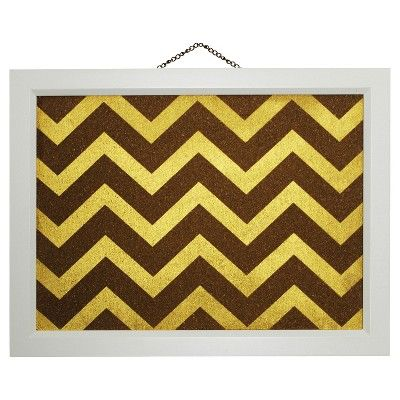 Chevron Cork Board Multicolored - Threshold,
