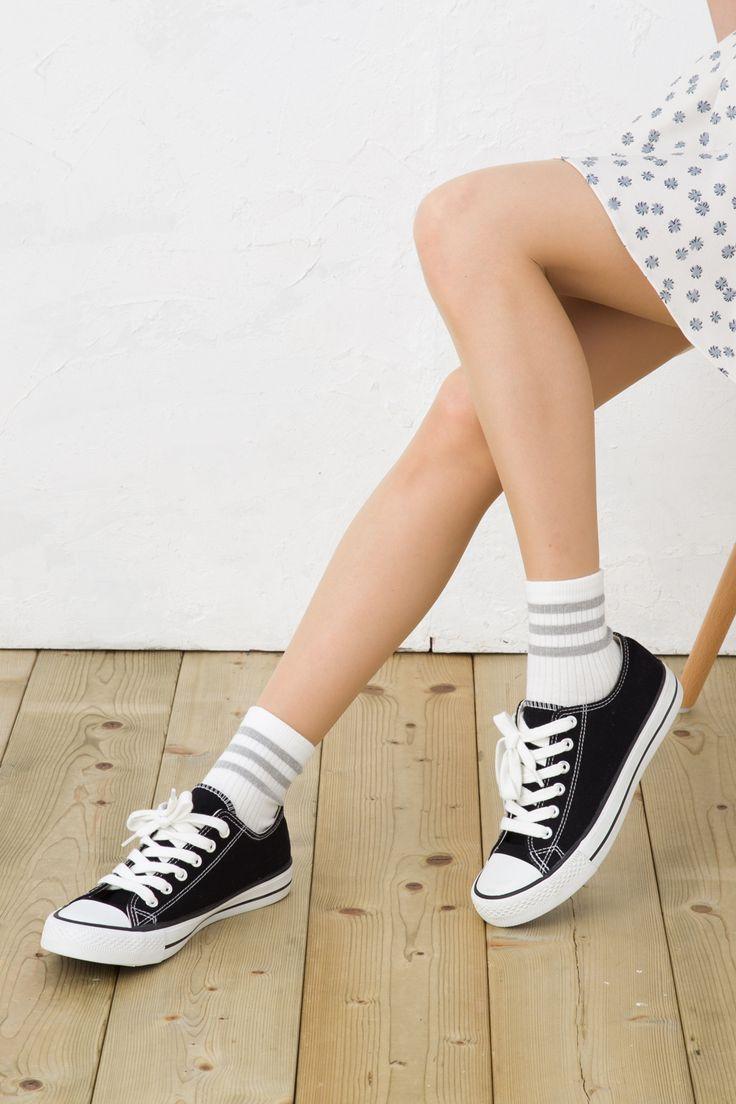 3line socks 3本ラインソックス (ショート丈)