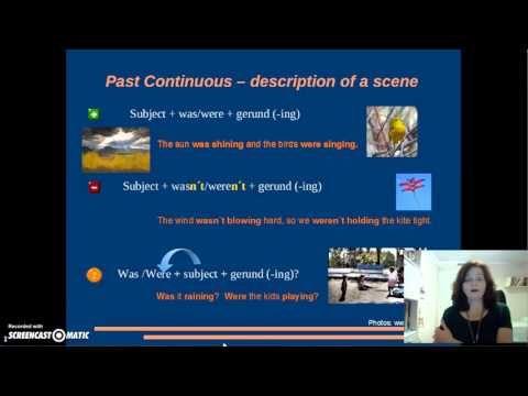 Sesión 1. En CASA 1.2  Past tenses revision