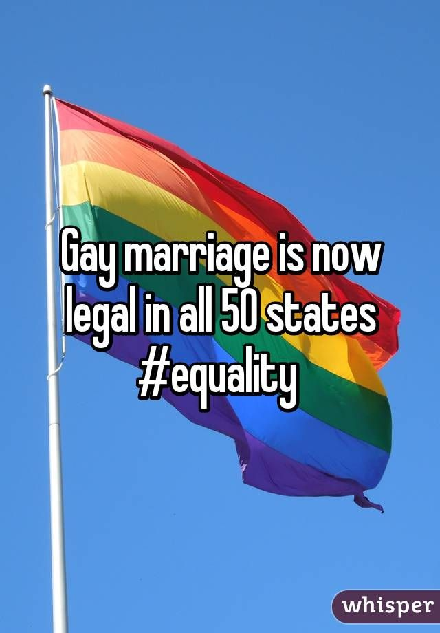 Gay marriage in all 50 states