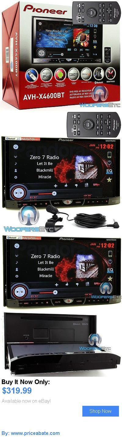 Vehicle Electronics And GPS: Pioneer Avh-X4600bt 7 Tv Dvd Cd Mp3 Usb Ipod Eq Car Stereo Pandora Bluetooth BUY IT NOW ONLY: $319.99 #priceabateVehicleElectronicsAndGPS OR #priceabate