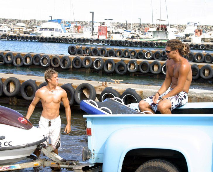 Pin for Later: Just 32 Really Hot Pictures of Jason Momoa From Movies and TV North Shore And without a shirt.
