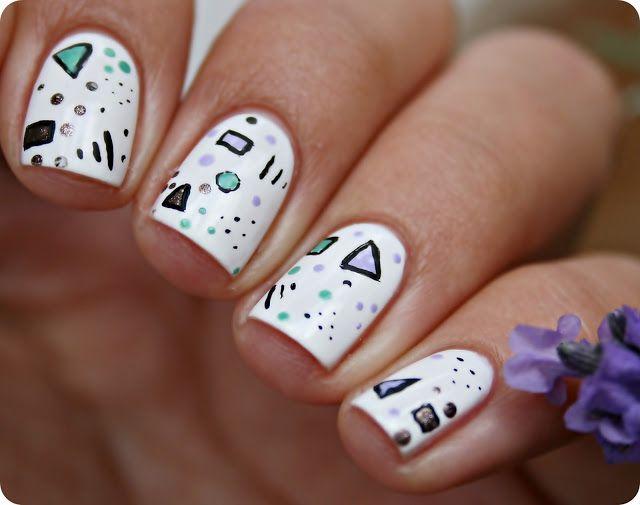 Malý koutek krásy: Čmárání si na nehty.. ☺