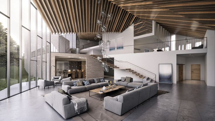 50 Modern Living Rooms That Act As Your Home's Centrepiece