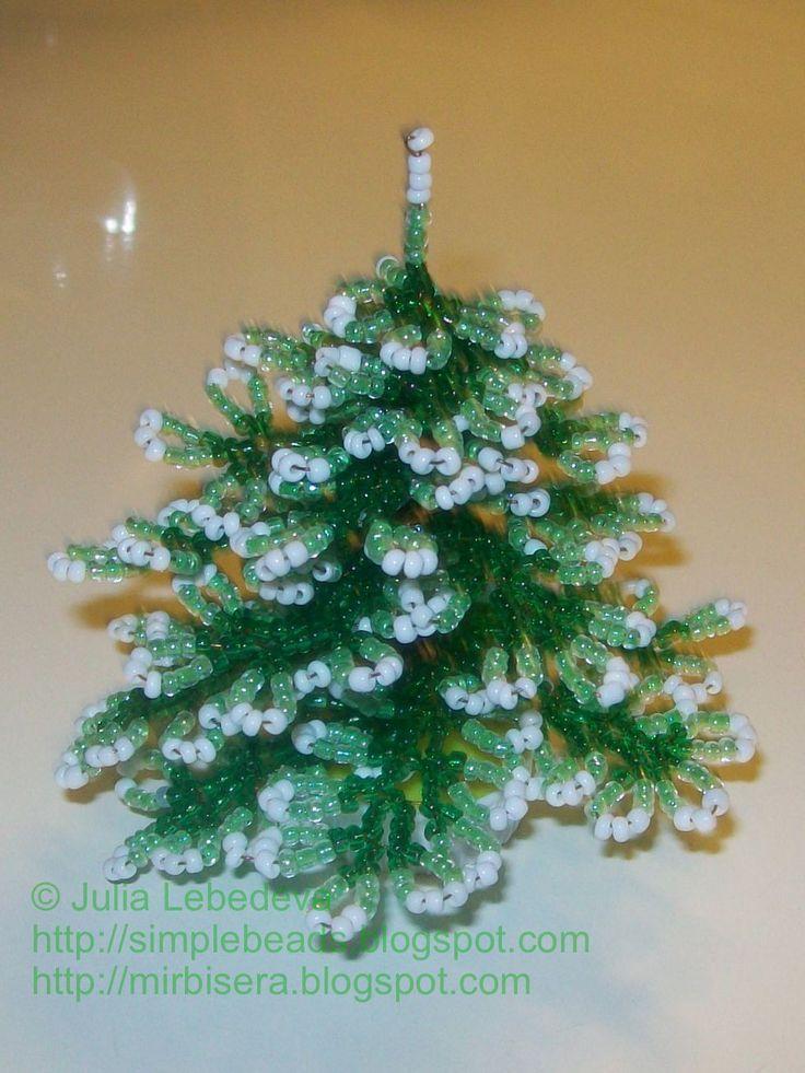 Beading for the very beginners: Christmas Tree | Christmas ...