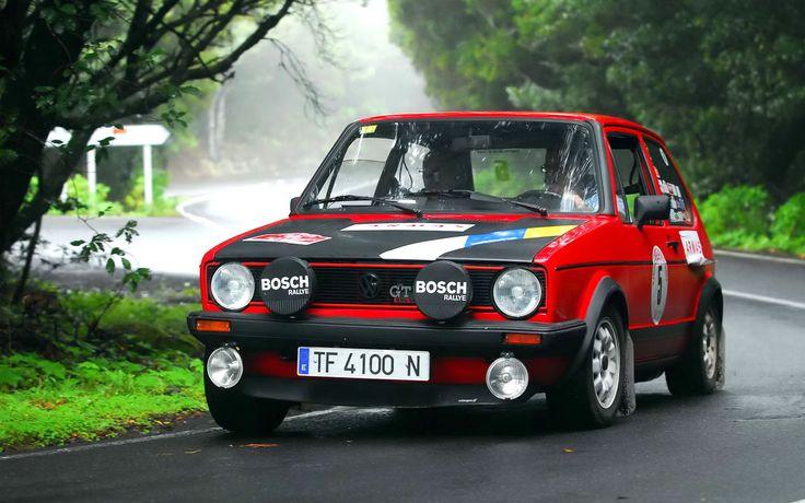 GTI MK1 Rally Car | VW Golf Mk1 | Pinterest | Mk1, Volkswagen and Volkswagen golf mk1