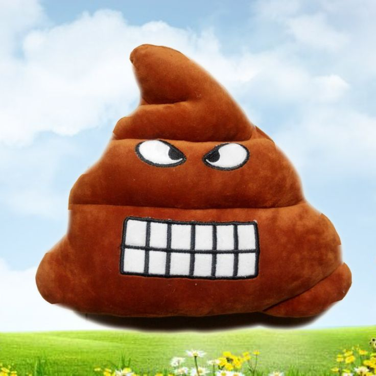 1pc Stool Emoji Smiley Emoticon Cushion Pillow Stuffed Plush Toy Doll Poop Face Smiley Poop Pillow Home Sofa Office Decorative. Yesterday's price: US $9.12 (7.59 EUR). Today's price: US $9.12 (7.54 EUR). Discount: 45%.