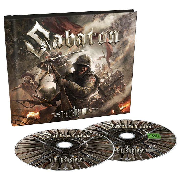 """L'album dei #Sabaton intitolato """"The Last Stand"""" in formato digipak con DVD bonus."""