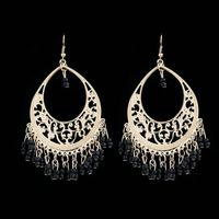 2015 Bohemia joyería de moda pendientes xilin retro discoteca viento