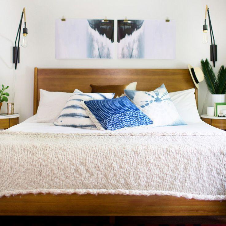 Attic overhaul renovation tips by chelseapetaja westelm master bedroom pinterest Master bedroom reno ideas