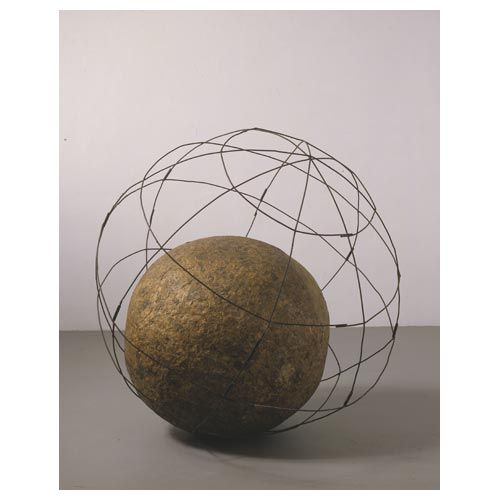 Globe, the huge ball of newsprint that Pistoletto first rolled through the streets in the 1960s, and still, occasionally, goes for a roll.