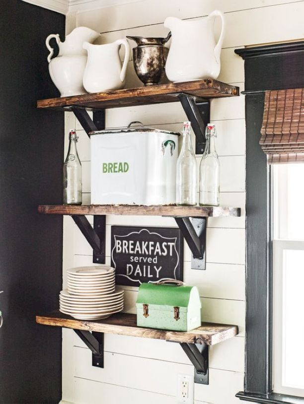 awesome 88 incredible diy kitchen open shelving ideas https