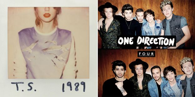 Taylor Swift's 1989 and One Direction's Four