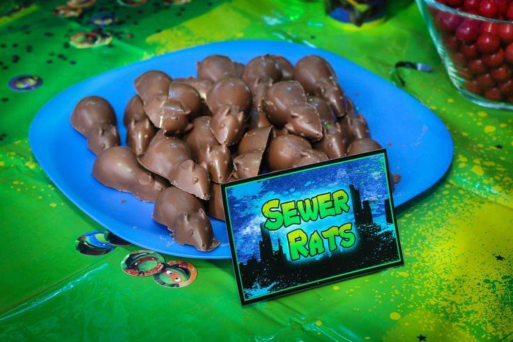 Teenage Mutant Ninja Turtle 4th birthday party! #TMNT Teenage Mutant Ninja Turtle party, TMNT party