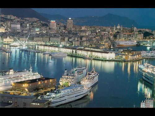 Genoa, Italy - Genoa is one of Europe's largest cities on the Mediterranean Sea and the largest seaport in Italy