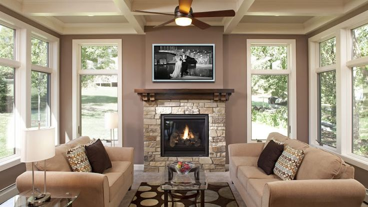 11 best sunroom with fireplace images on pinterest for Living room addition ideas