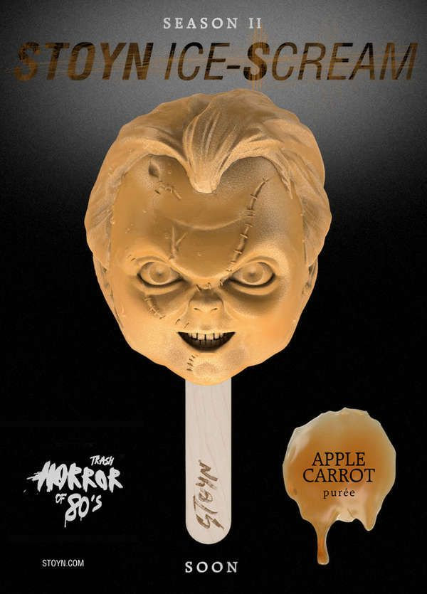 The Stoyn Horror Movie Popsicles are Scarily Delicious. 5 flavorz 2 Die 4