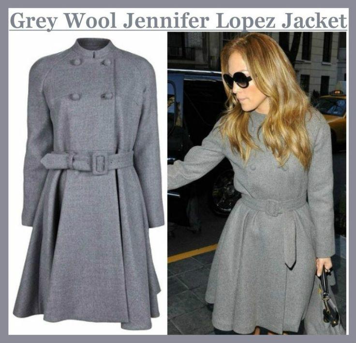 Desert Leather sale Online Grey Jennifer Lopez Coat. Jennifer Lopez is a legend in the Hollywood also Buy Wool Fabric Jennifer Lopez Long Coat at cheap price our online store.  #JenniferLopez #Hollywoodcelebrities #celebrity #Sexy #Hot #WomensJackets #Fashion #Shopping #Cosplay #geek #geektyrant #WomensWear #Clothing #WoolFabric