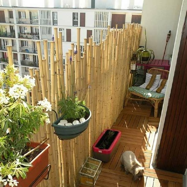 les 25 meilleures id es de la cat gorie canisse bambou sur pinterest canisse balcon canisse. Black Bedroom Furniture Sets. Home Design Ideas